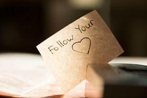 følg dit hjerte