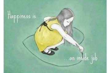 være hjemme i dig selv